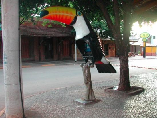 Bonito, MS: Public phone - Tucano