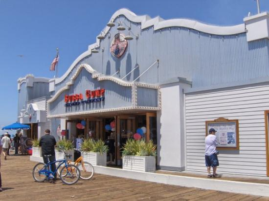 Bubba Gump Shrimp Co.: El restaurante de Buba Gump Shrimp