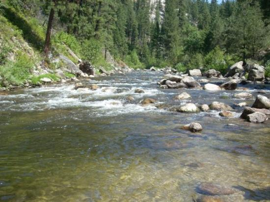 middle fork payette river  crouch picture  garden