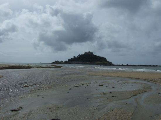 St. Michael's Mount: As close as we could get to the Mount