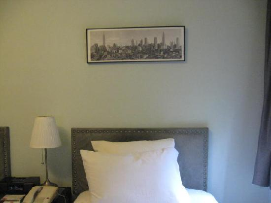 414 Hotel: Habitacion