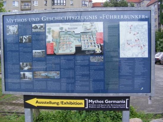Site Of Hitler S Bunker Picture Of Berlin Germany