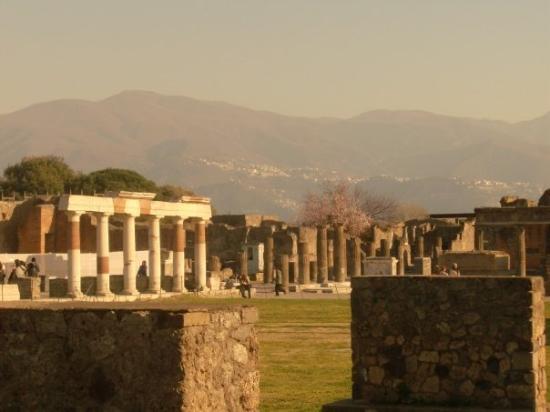The Forum in Pompei