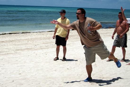 Secrets Silversands Riviera Cancun Beach Bocce Ball