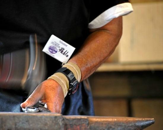 White Springs, FL: Pablo the Blacksmith