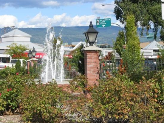 Vernon, Canada: Water fountain
