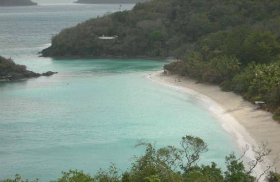 Trunk Bay on St. John.