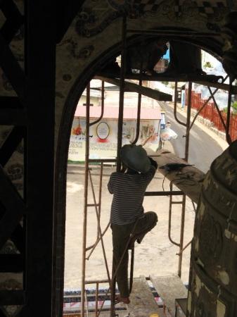 Da Lat, Vietnam: Temple, près de Dalat