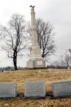 Veteran's Memorial, Altoona Cemetery, PA