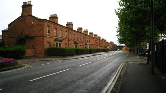 Calm street in Derby