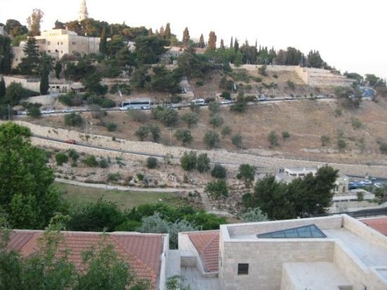 เขามะกอกเทศ: The Mount of Olives.