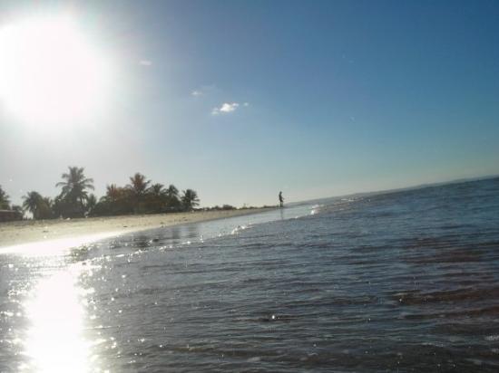 Itaparica: praia do arembepe a nord di salvador di bahia