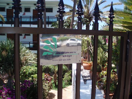 Apartamentos Taboga: Entrance