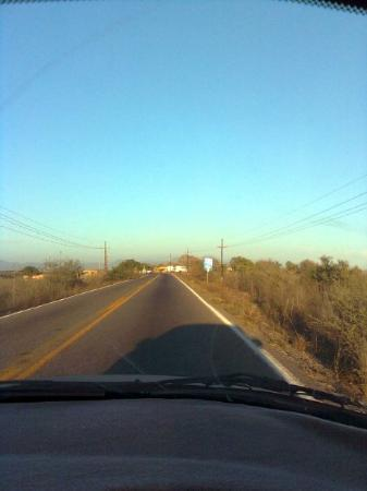 Teacapan, Mexico: on the road