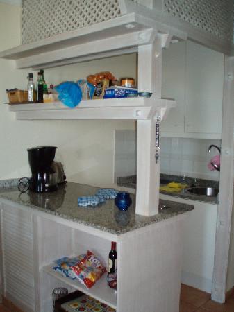 Apartamentos Taboga: Ktichenette