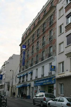 Timhotel Place d'Italie-Butte aux Cailles: ビジネスホテル風の民宿といった感じ