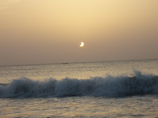 Шри-Ланка: Solar Eclipse in Trincomalee