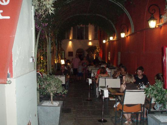 The outside of the restaurant photo de la maison de marie nice tripadvisor - Restaurant la maison de marie nice ...