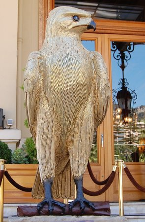 Monte-Carlo, Monako: Golden eagle at MonteCarlo casino