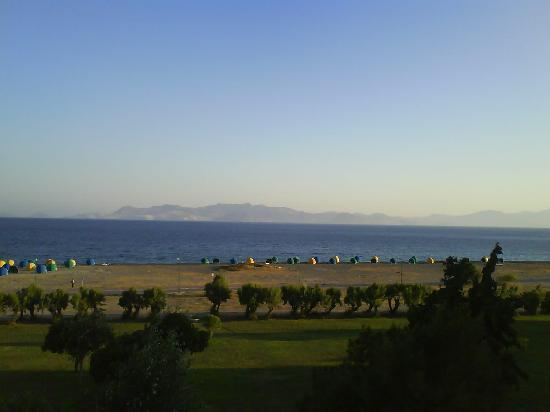 Mitsis Ramira Beach Hotel: Our Balcony View