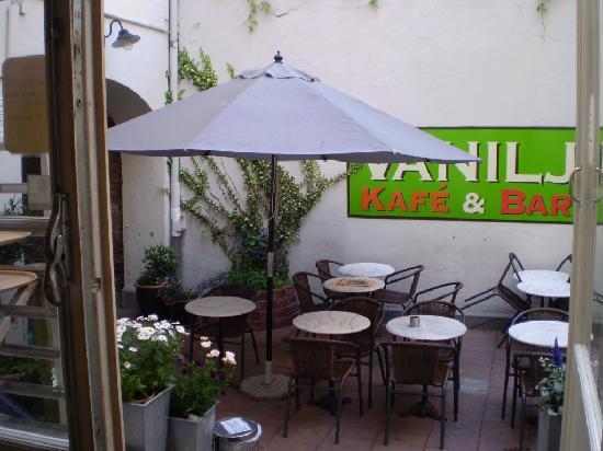 Hotel Vanilla: the lovely cafè