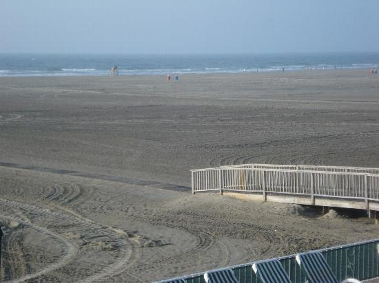 Wildwood Crest, NJ: View from our 2d floor balcony
