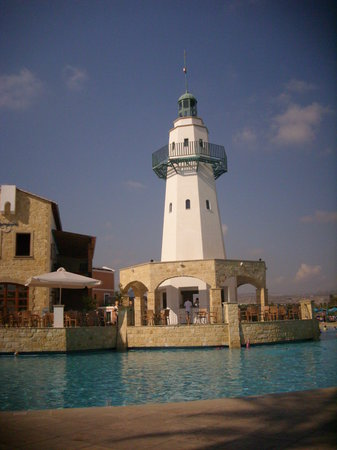 Aliathon Holiday Village: the lighthouse
