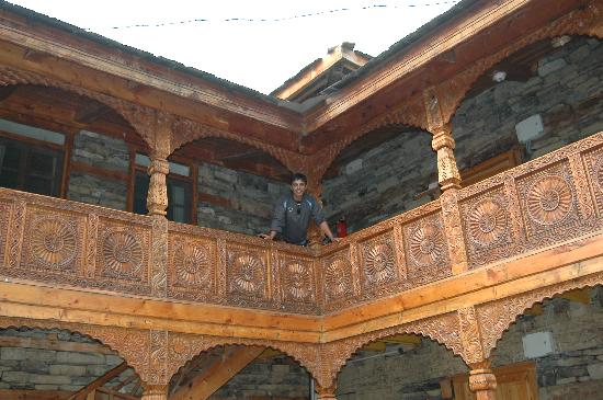Naggar Castle courtyard