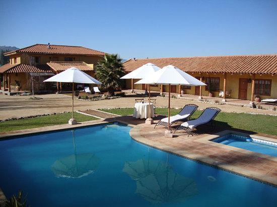 Posada Colchagua: Refrescante piscina!!