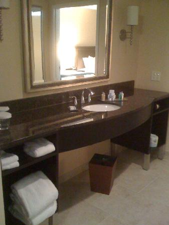 Doubletree by Hilton Detroit Downtown - Fort Shelby: vanity area outside bathroom