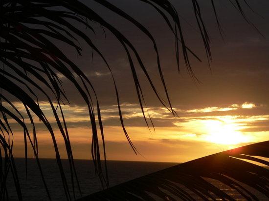 Casa de Leyendas: sunset from the rooftop mirador