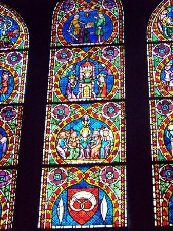 Freiburg Cathedral: Vitraux du Münster de Fribourg, Bade-Wurtemberg, Allemagne