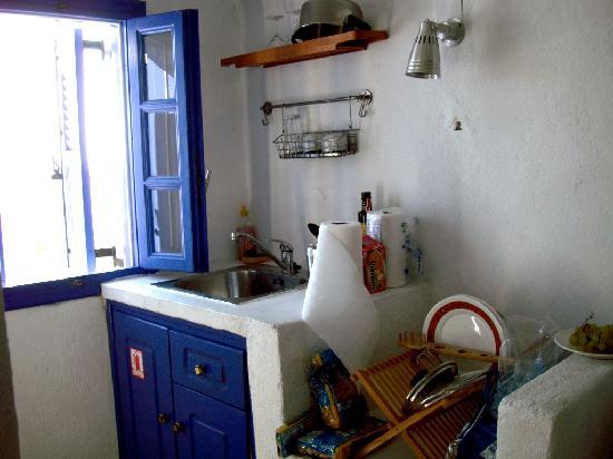 "VIP Suites: The ""kitchen""."