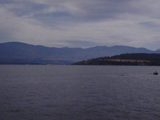 Kelowna, BC.  View from the Fintry Queen on Lake Okanagan.