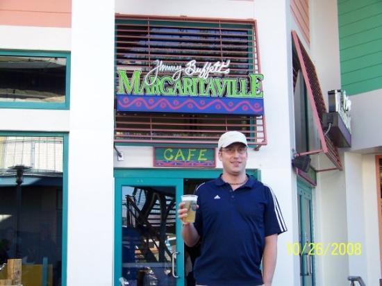 Margaritaville Orlando: He got the biggin'