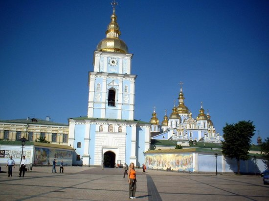 St Michael S Golden Domed Monastery Picture Of Kiev