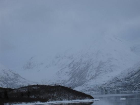 Portage Glacier in the background.  Used to cover all the water in the foreground.