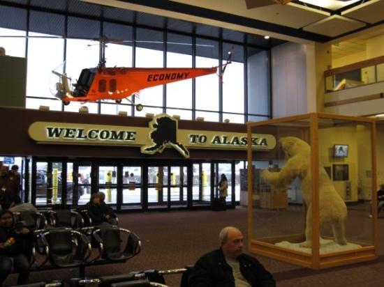 Best Food Anchorage Airport