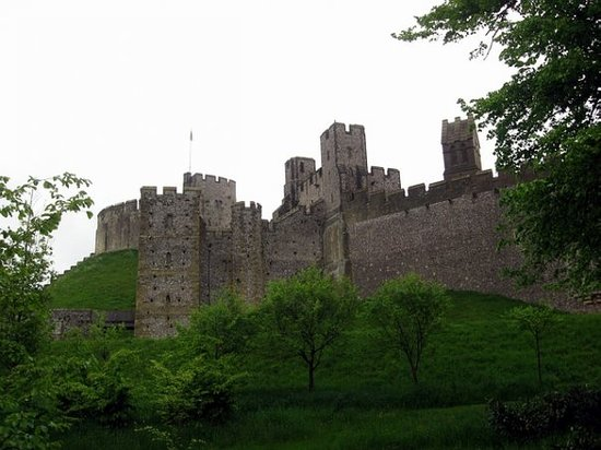 Arundel Castle of the Duke of Norfolk