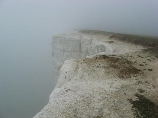Eastbourne, UK: Beachy Head white cliffs