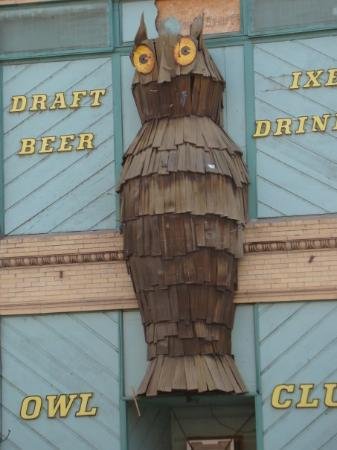แซลมอน, ไอดาโฮ: The Owl Club on Main Street in Salmon, Idaho.