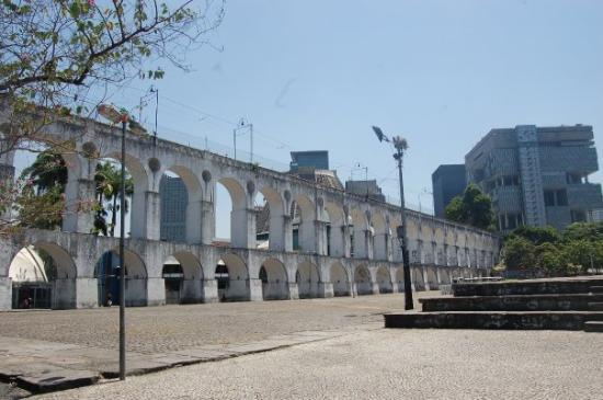 Carioca Aqueduct ภาพถ่าย