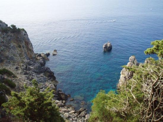 Paleokastritsa Beach: Paleokastritsa (Kerkyra)