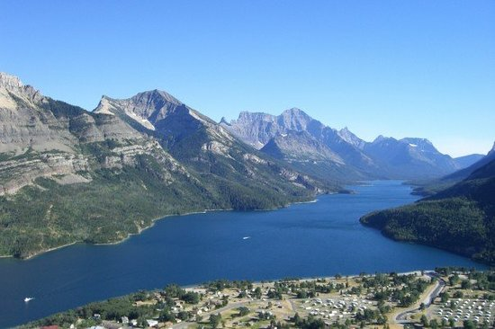 Waterton Lakes National Park, Canada: Waterton Lake