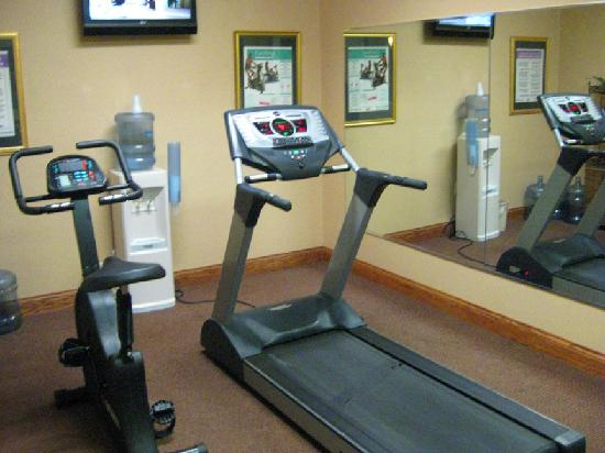 The small fitness center picture of four points by for Small exercise room