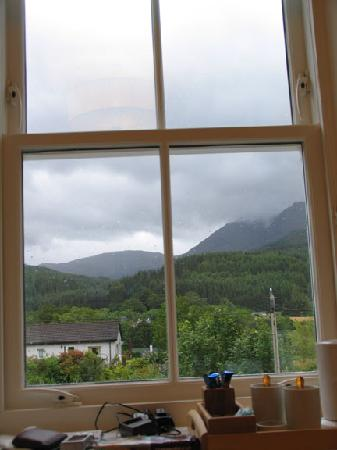 Pineapple House B&B: The view from our room.