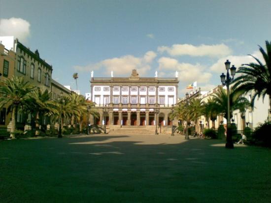 Plaza de Santa Ana: Plaza Mayor de Santa Ana; Las Palmas de Gran Canaria, SP