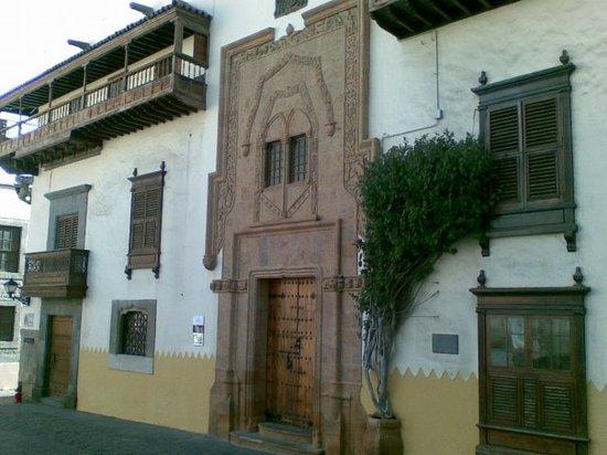 Drugi vhodni portal Case de Colón; Las Palmas de Gran Canaria, SP