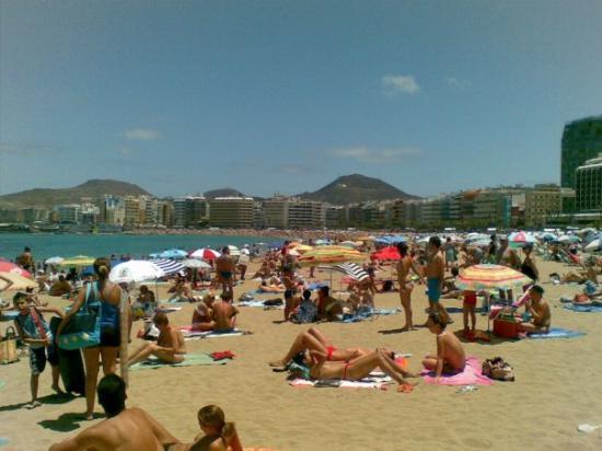Playa de Las Canteras, kamor se bom še velikokrat vrnil in, roko na srce, kdo sploh še gre na Hr