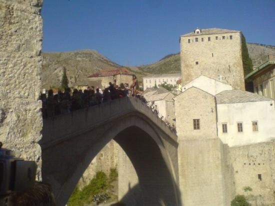 Old Bridge Area of the Old City of Mostar: Mostar ...